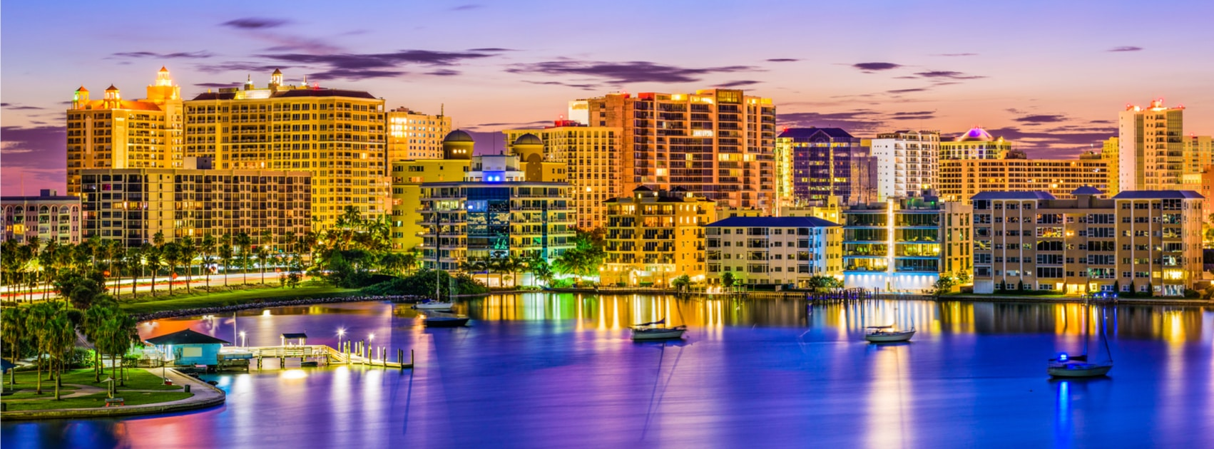 Image of Sarasota Florida, home of the International Institute for Customer-Centered Leadership