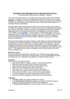 Strategic Project Management Webinar 040220 Flyer